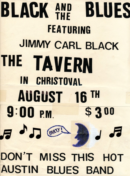 Black & Blues at The Tavern in Christoval, Texas